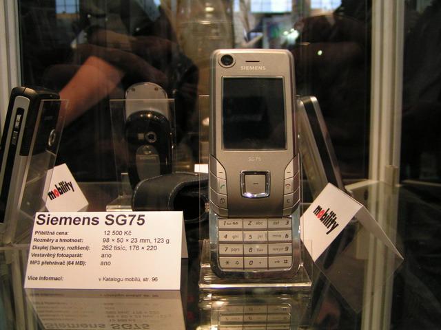 Thread benq mobile siemens 75 series live pics